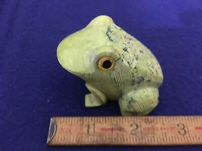 Marble Stone Mineral Carved Frog