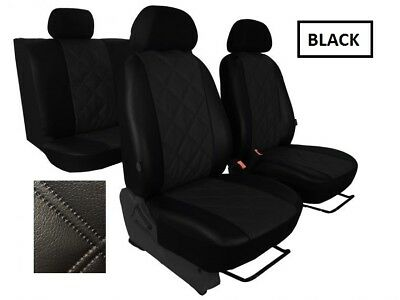FORD FIESTA Mk7 5 Door 2008-2017 ECO LEATHER TAILORED SEAT COVERS