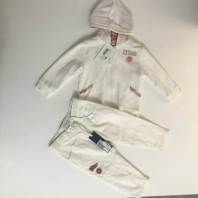 mitch son Boys Pants And Zip Up  Was £62 ‼️now‼️ £28 ‼️12 Months BNWT