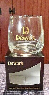 NEW~RARE~Dewar's Scotch Whiskey Rocks Glass(es)~Some Things Are Just Worth Doing