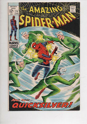 AMAZING SPIDER-MAN #71 comic/from 1969/One owner NM- 9.2 copy/CGC worthy!