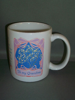 AVON Gift Collection Sentimentally Yours Mug - Grandmother - NEW IN BOX