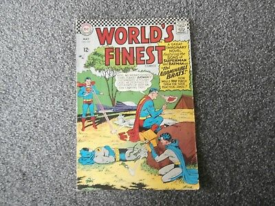 Worlds Finest comics. No 157. From May 1966