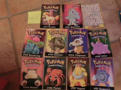 Pokemon Postkarten Neu 11 Stk Set 4