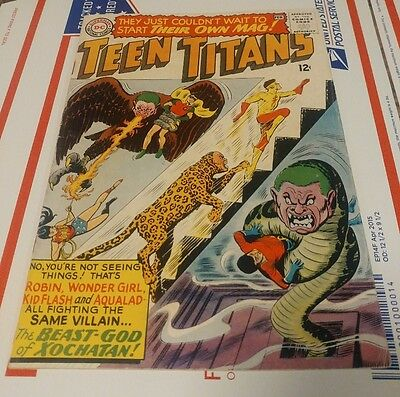 Teen Titans issue #1!
