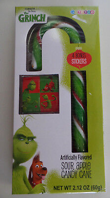 The Grinch--Sour Apple Candy Cane--Expire June 2020