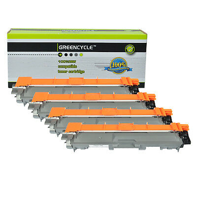 4PK TN221 TN-221 Black Laser Toner Cartridge For Brother MFC-9130CW HL-3140CW