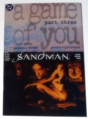 THE SANDMAN #34 'A Game of You' Part 3 (DC, Jan '92)Free Shipping MAKE AN OFFER!