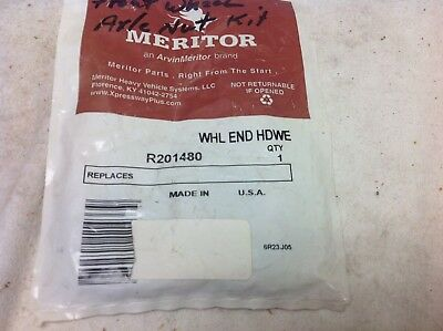 NOS meritor r201489 wheel axle nut FREE SHIPPING