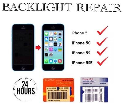 iPhone 5 5G 5C 5S 5SE Backlight IC Coil Filter Logic Board Repair Service
