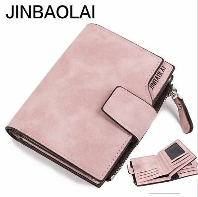 Women Leather High Capacity Wallet Trifold Credit Card ID Holder Purse Hot 2019