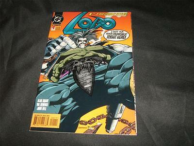 "Lobo 1 ""First Fraggin' Issue"" (12/1993 Foil Enhanced Cover) NM (9.4) DC Superman"