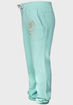 NEW Girls 6 Years Green Sparkly Designer Joggers/jogging Bottoms