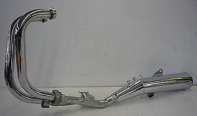 HONDA CB450 CB 450 TWIN 2 CYLINDER CHROME TAPERED EXHAUST MUFFLERS PIPES SET