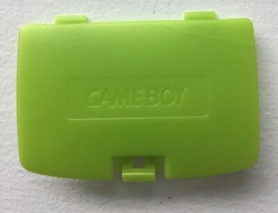 New Kiwi Lime Green Battery Cover Game Boy Color System - GBC Replacement Door