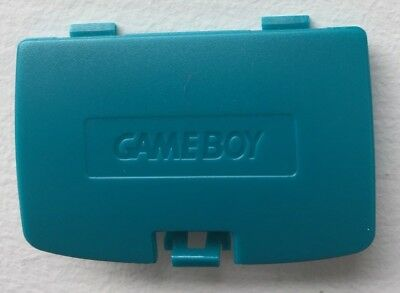 New Teal Blue Battery Cover Game Boy Color System - GBC Replacement Door