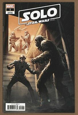 Star Wars Solo Adaptation #1 Luke Ross 1:50 Chewie Meets Han Incentive Variant