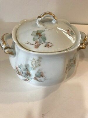 Haviland Limoges French china sugar and creamer