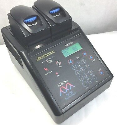 MJ Research PTC-200 PCR DNA Engine Thermal Cycler w/ 30/48-Well Alpha Unit Block
