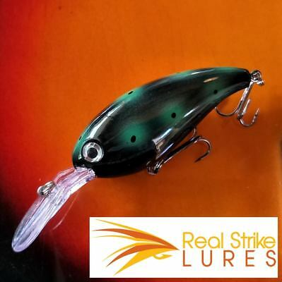 60mm Fishing lures Floating Bream Murray Cod Yellowbelly Trout Barra Bass Red...