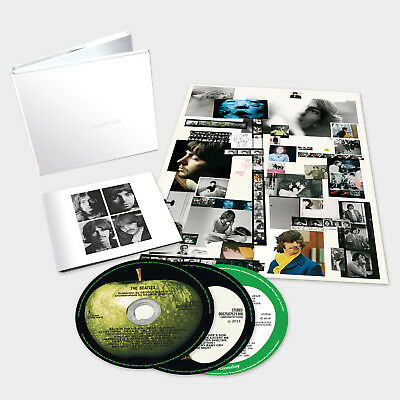 The Beatles (The White Album) 50th Anniversary Deluxe Edition - 3 CD Set