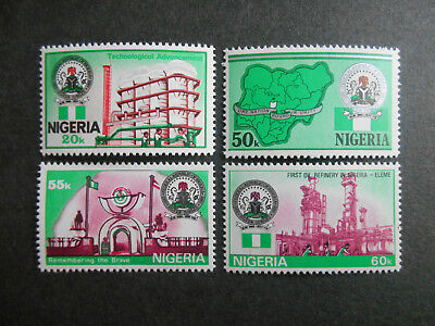 Nigeria 1985 25th Anniversary of Independence SG 495-8 MNH (see photos)