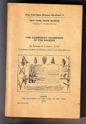 The Community Industries Of The Shakers, Edward D. Andrews, 1933  22