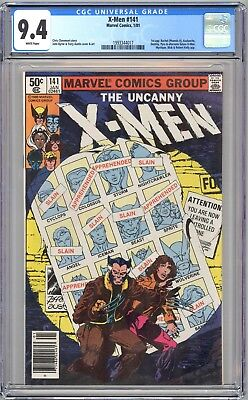 X-MEN #141 - CGC 9.4  - WP - NM - DAYS OF FUTURE PAST STORY pt 1