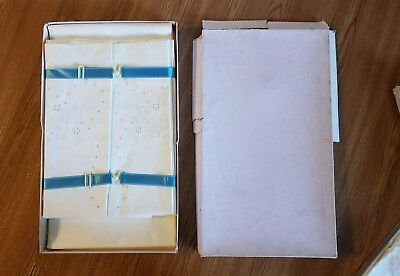 Antique German Bed Linen French Bed Linen - BEAUTIFUL ~ Found pressed & boxed