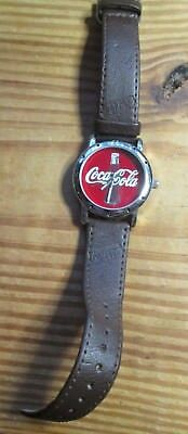 2002  Collectible Coca Cola Wrist Watch New Battery Working
