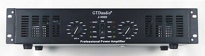 GTD Audio 2 Channel 4500 Watts Professional Power Amplifier Amp Stereo J4500
