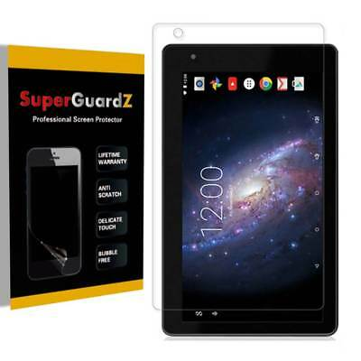 """3X SuperGuardZ® Clear Screen Protector Guard For RCA Voyager III 7"""" (RCT6973W43)"""