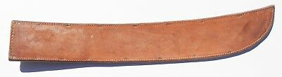 Exc+  Orig M1939 Leather Machete Scabbard Named To Soldier 633 Tank Destroyer Bn