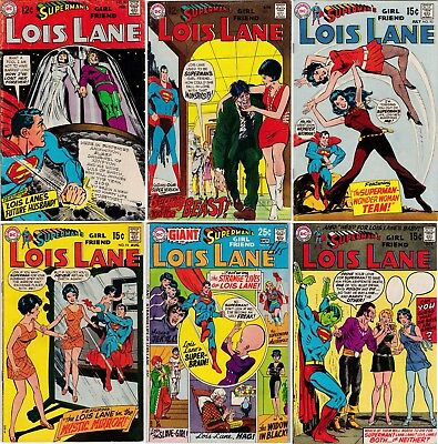 Superman's Girl Friend Lois Lane #90 91 93-101 103 lot 12 Silver Bronze comics
