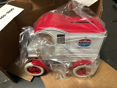 ERTL DIECAST COLLECTOR  Bank 1905 Delivery Car  Amoco #1333 RARE!  NEW IN BOX