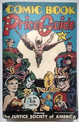 Overstreet 1974 Comic Book Price Guide 4Th Edition!