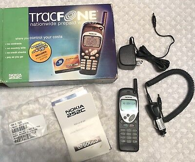 VTG NOKIA 252C Cellular Phone  UNUSED IN BOX  + Manual & Charger