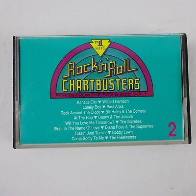 Rock N Roll Chartbusters Vol 2 Various Artists Cassette 1991 Metacom Records