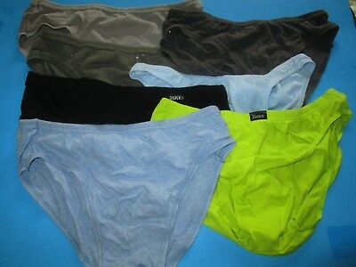 Vintage 1990's Men's Low-Rise BIKINI Underwear LOT by JOCKEY LIFE JAKE L 36-38