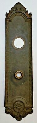 Antique Reading Hardware Co. RH Co. Door Knob Backplate