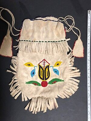 Native American Indian Sioux Beaded Bag