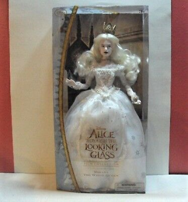 Disney Alice Through the Looking Glass White Queen Mirana Nude Fashion Doll NEW