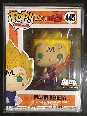 2018 Funko POP! Dragon Ball Z Majin Vegeta (Signed) #445 Over9000.com Exclusive