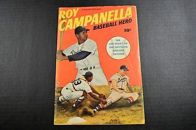 1950 Roy Campanella Baseball Hero Fawcett Publications Golden Age Dodgers VG/VG+