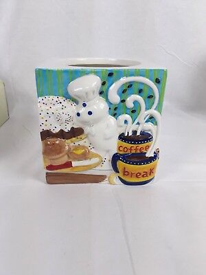 The Pillsbury Doughboy - Canister Collection - The Danbury Mint - Canister Only