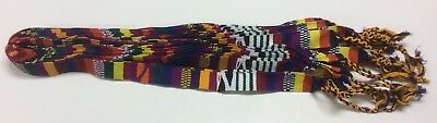 "Wholesale Lot Colorful Guatemalan Woven Sash 55"" X 1"""
