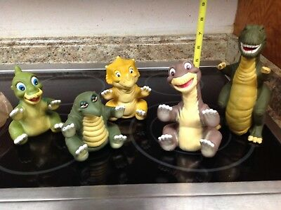 RARE Land Before Time Vintage Dinosaur Pizza Hut Puppets Limited Edition 1988