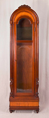 Herschede 9 tube grandfather clock case only @ 1970s model # 276 The Virginian