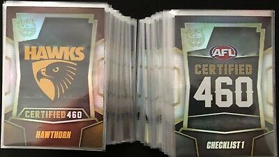 AFL Select 2016 Certified 460 bulk listing pick your card