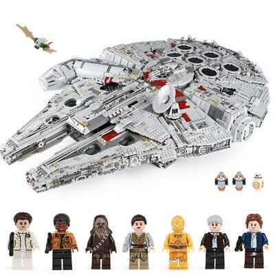 New Star Wars Ultimate Millennium Falcon Compatible with Lego 75192 Sealed